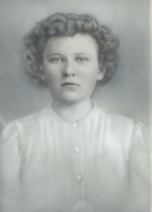 Mary Deranek, about age 16