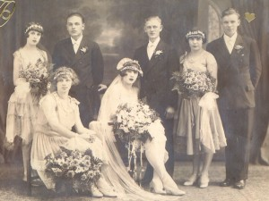 Marriage of Helen Rogalski and William Rohal